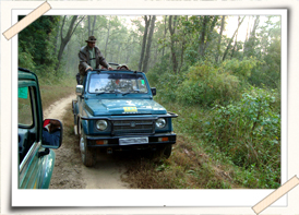 how to reach Kanha national park